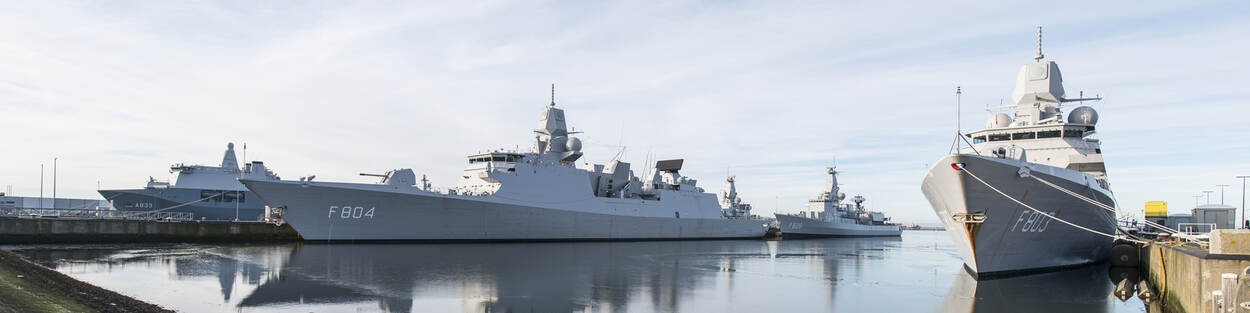 Ships of Royal Netherlands Navy.