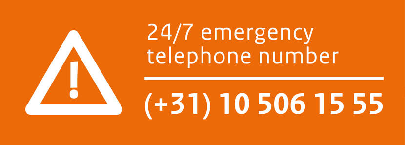 Emergency telephone number Defence Pipeline Organisation