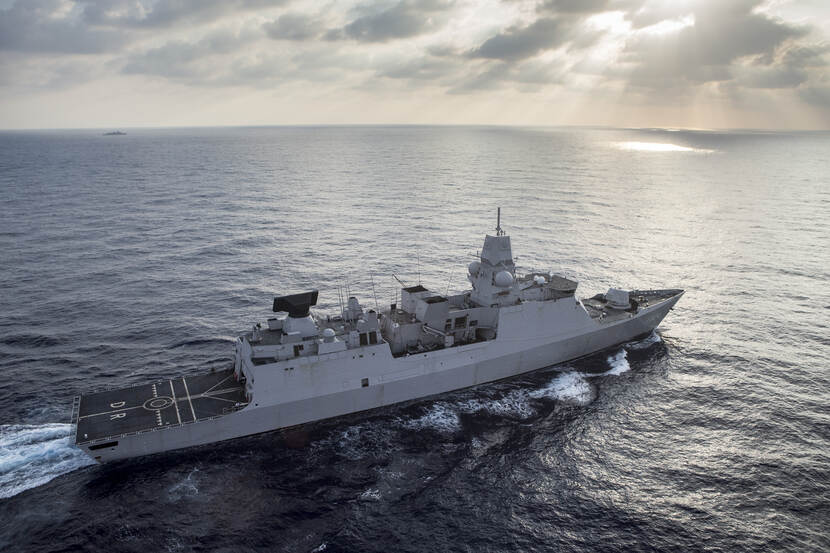 The air defence and command frigate HNLMS De Ruyter (September 2018).