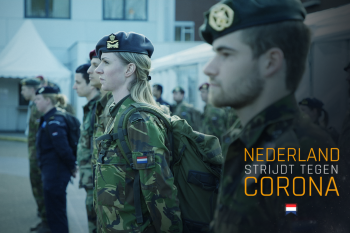 Military personnel in the Netherlands.