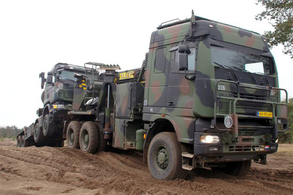 DAF YBB-95.480 recovery vehicle.