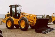 JCB Telemaster TM 270 front-end loader.