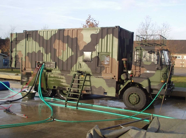 NBC Decontamination System (higher echelon).