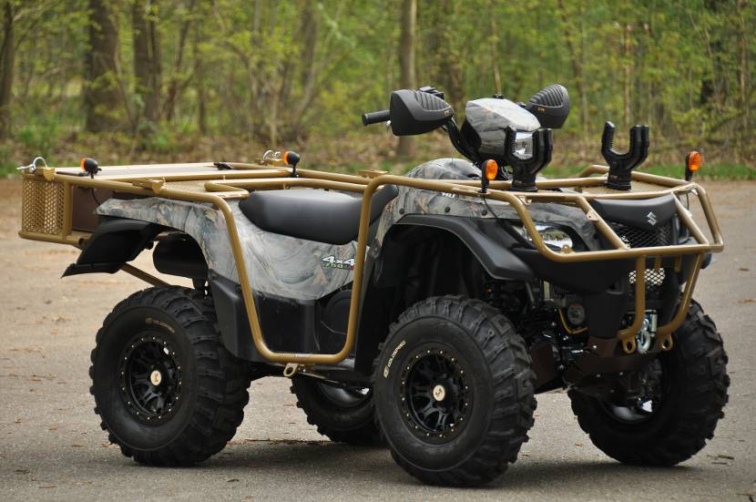 Suzuki King Quad 750 AXI 4x4.