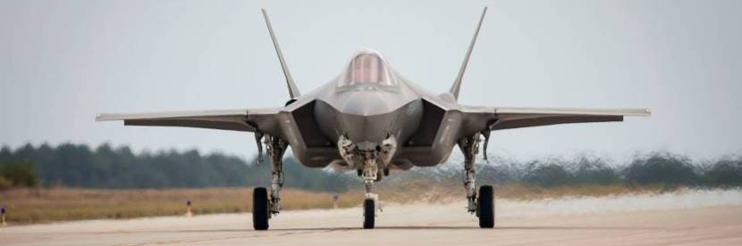Dutch F-35 at Edwards Air Force Base (California).