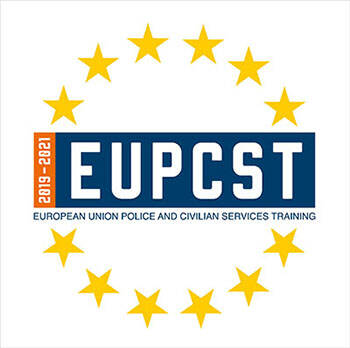Logo European Union Police and Civilian Services Training.