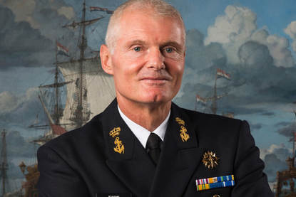Commander of the Royal Netherlands Navy Vice Admiral Rob Kramer.